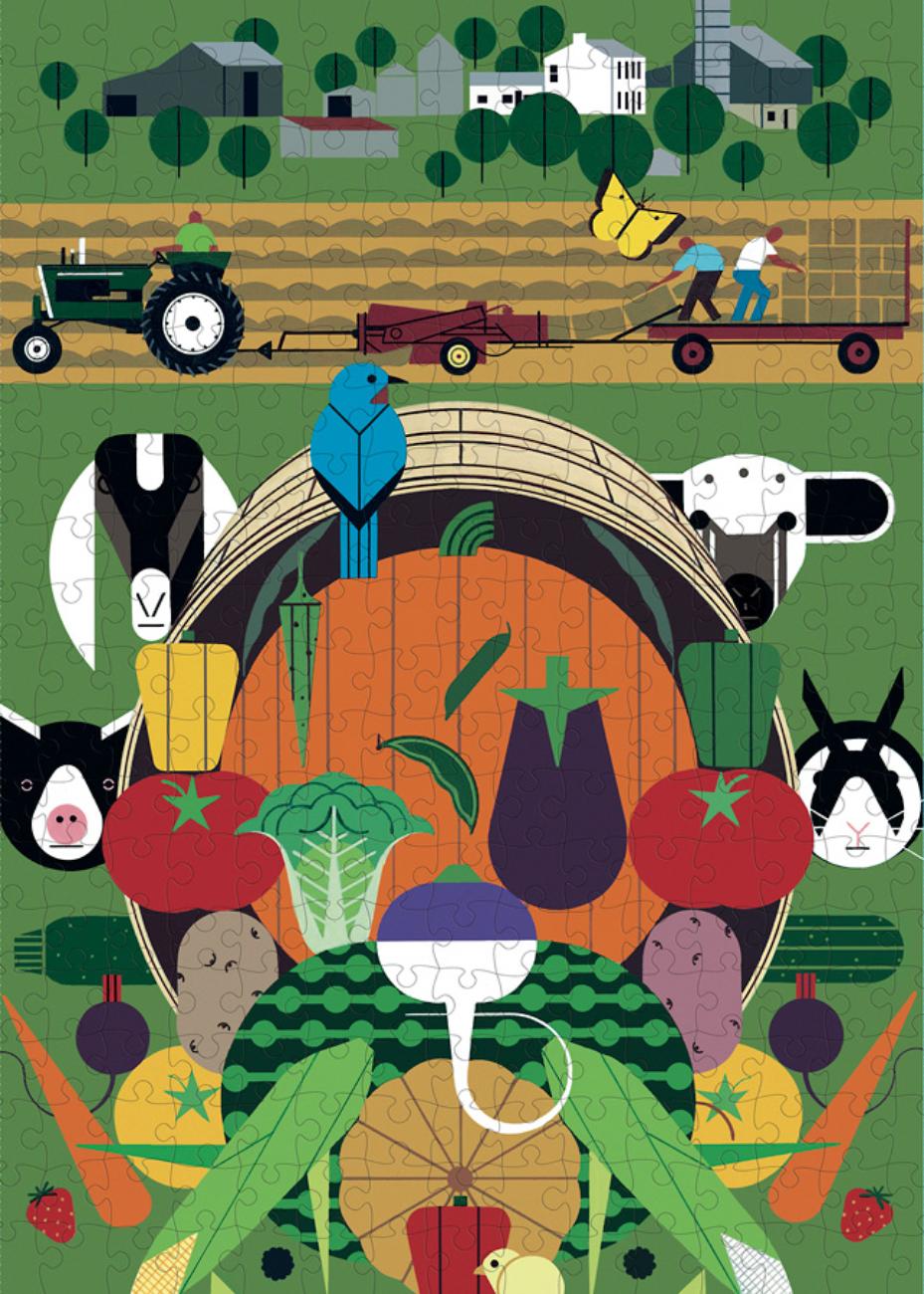 Gorman Heritage Farm Farm Jigsaw Puzzle