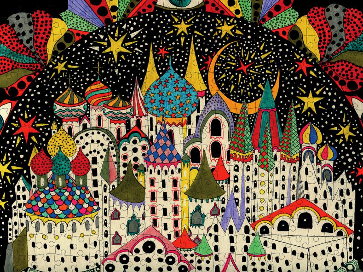 Imaginary City Castles Jigsaw Puzzle