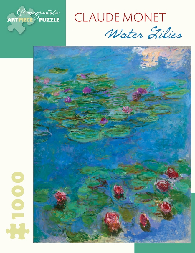 Water Lilies Flowers Jigsaw Puzzle