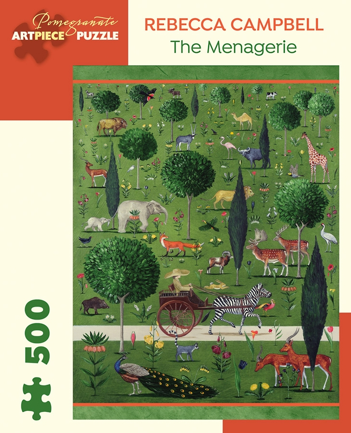 The Menagerie Animals Jigsaw Puzzle