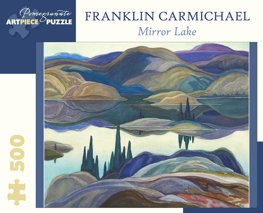 Mirror Lake Landmarks / Monuments Jigsaw Puzzle