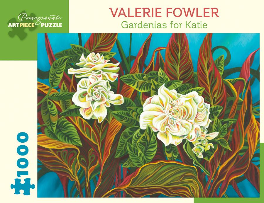 Gardenias for Katie Flowers Jigsaw Puzzle