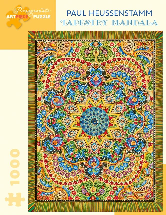Tapestry Mandala Mandala Jigsaw Puzzle