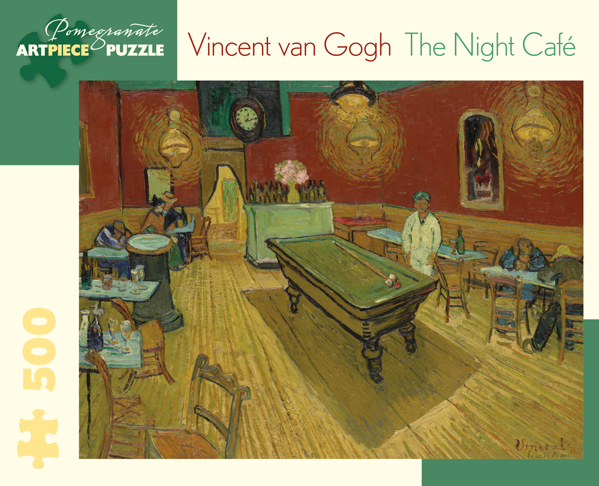 The Night Cafe Fine Art Jigsaw Puzzle