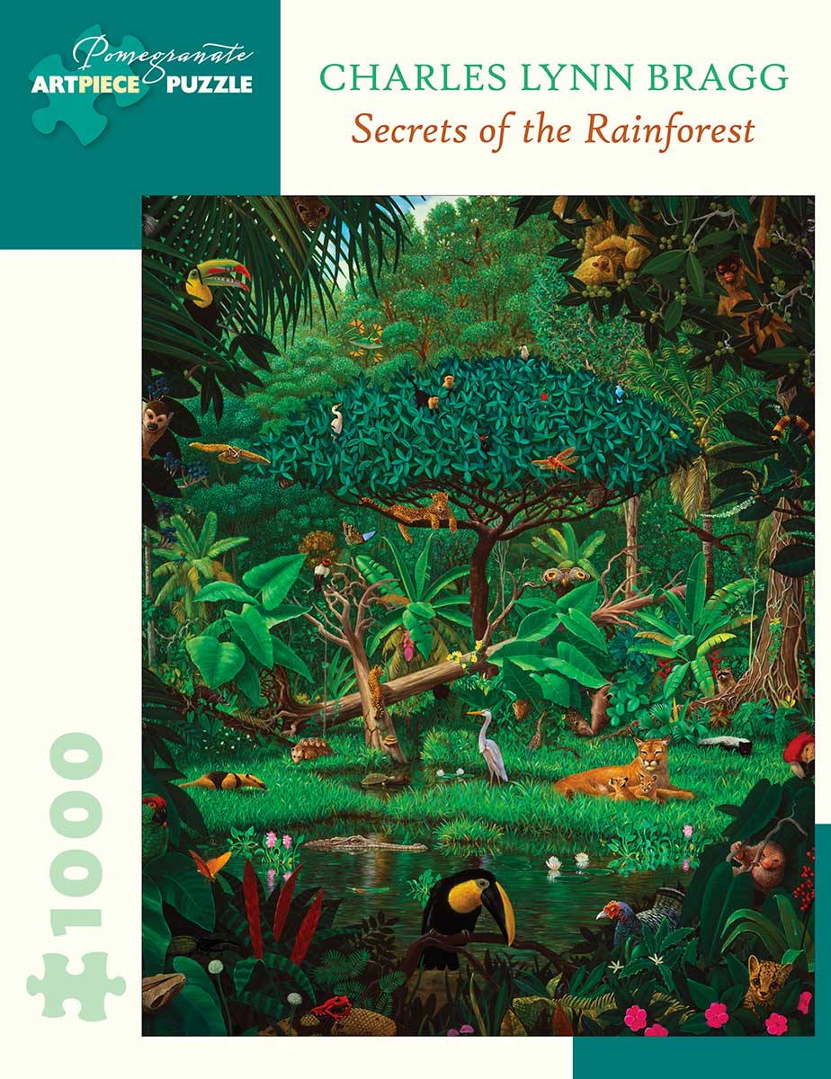 Secrets of the Rainforest Jungle Animals Jigsaw Puzzle