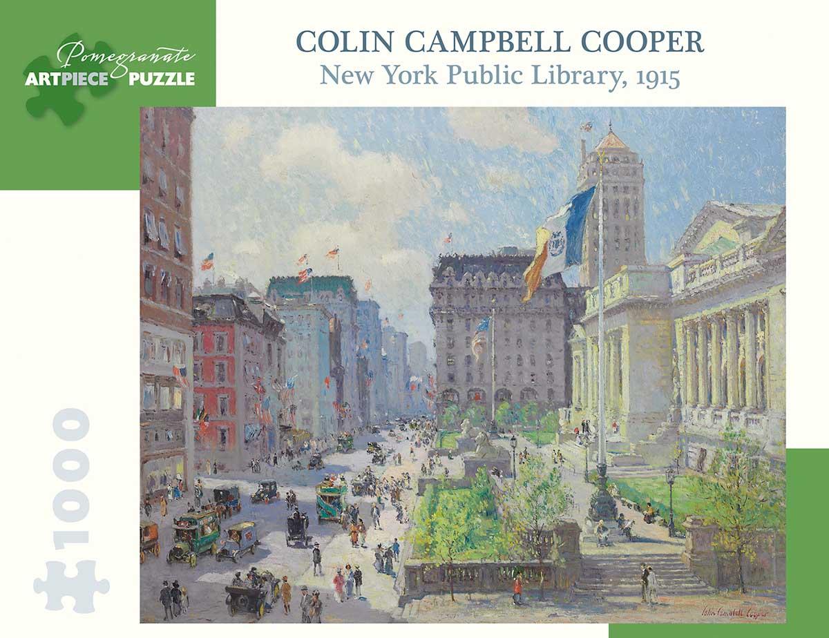 NY Public Library Landmarks / Monuments Jigsaw Puzzle