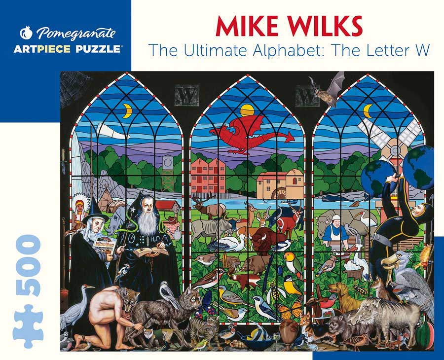 The Letter W Animals Jigsaw Puzzle