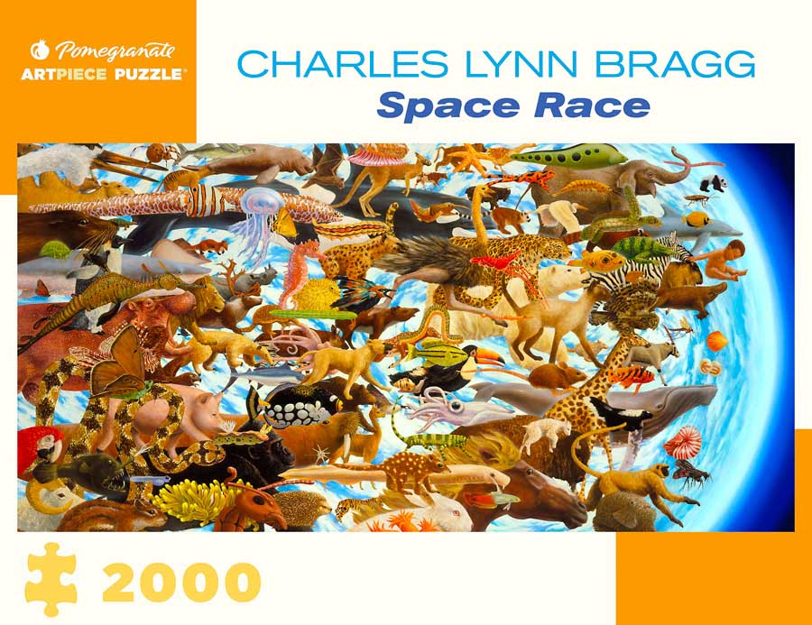 Space Race Animals Jigsaw Puzzle