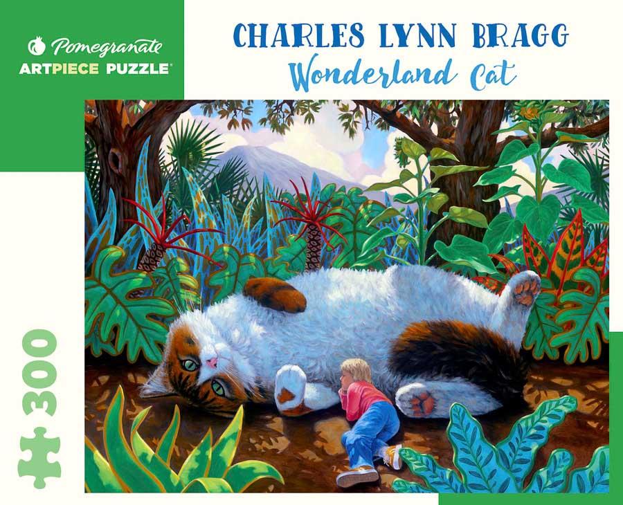 Wonderland Cat Cats Jigsaw Puzzle