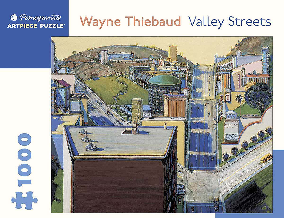 Valley Streets Cities Jigsaw Puzzle
