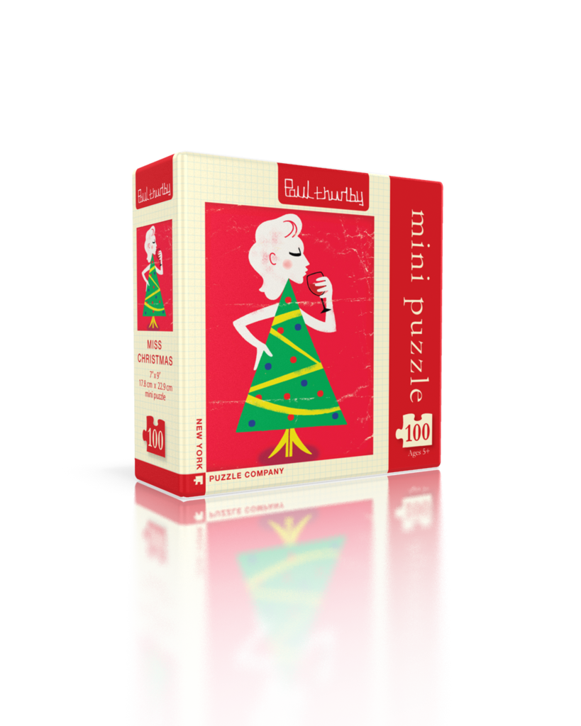 Miss Christmas (Mini) Christmas Jigsaw Puzzle