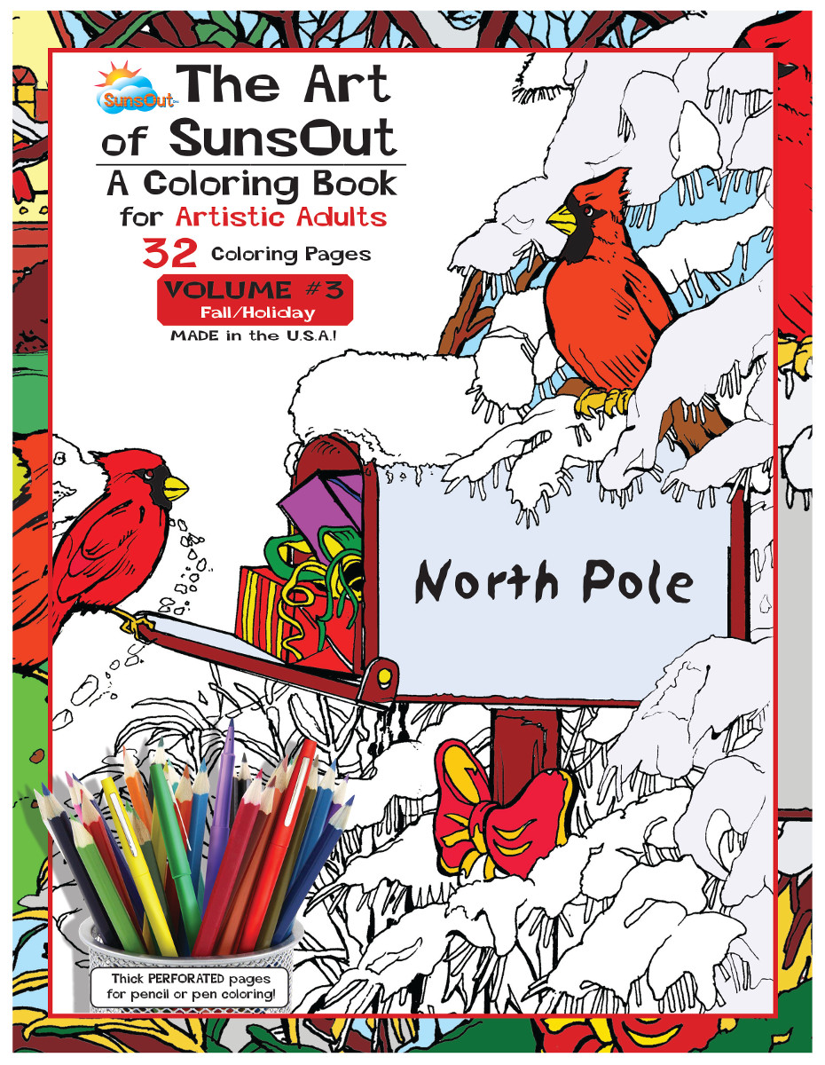 The Art of SunsOut Coloring Books: Volume 3 Coloring Book ...