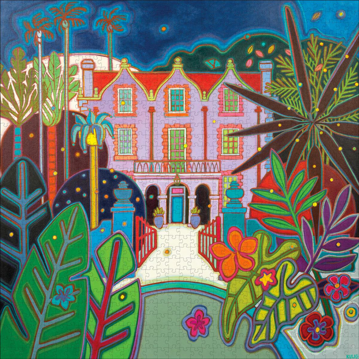St Nicholas Abbey Garden Jigsaw Puzzle