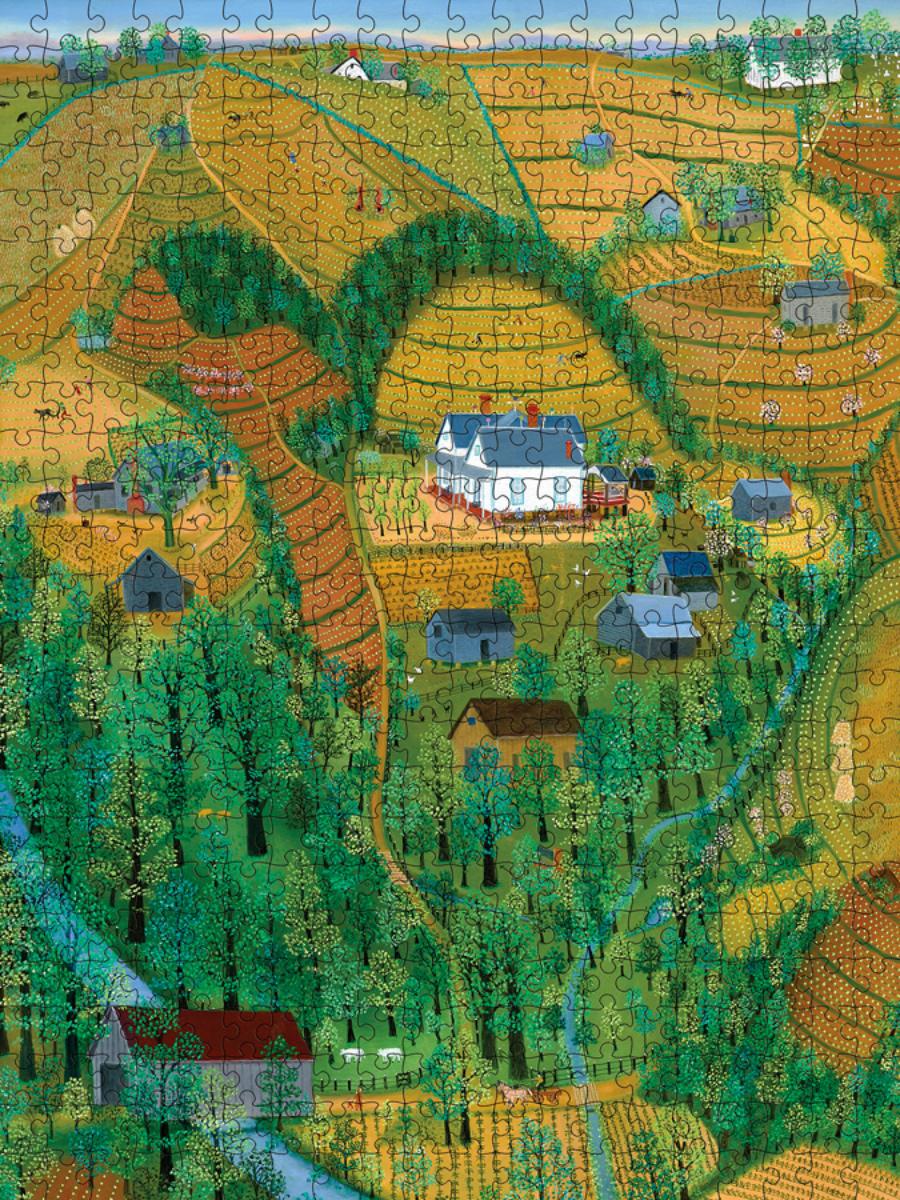 My Parents' Farm Farm Jigsaw Puzzle