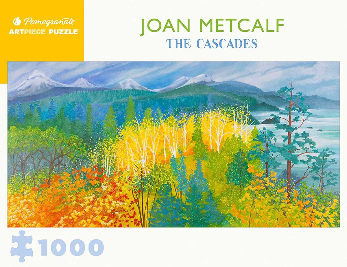 The Cascades Fall Jigsaw Puzzle
