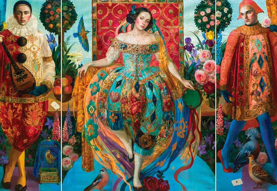 Dancer Fine Art Jigsaw Puzzle