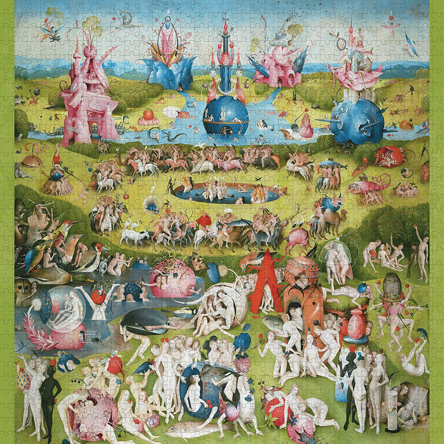 The Garden of Earthly Delights Fine Art Jigsaw Puzzle