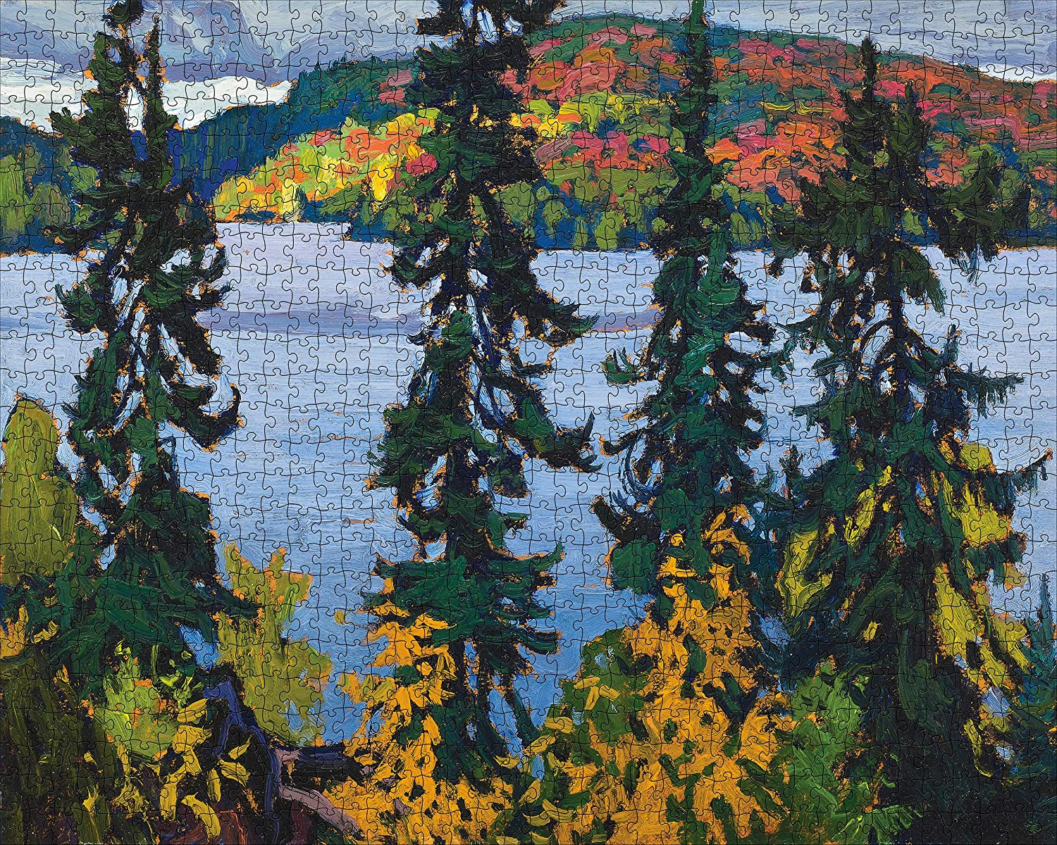 Montreal River Canada Jigsaw Puzzle