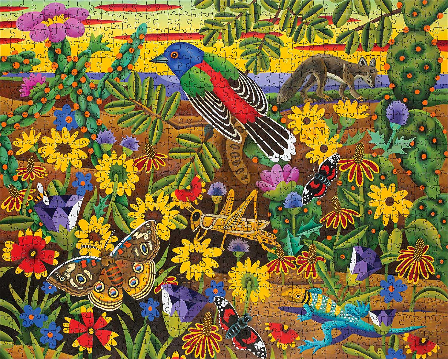 Caprock Country Birds Jigsaw Puzzle