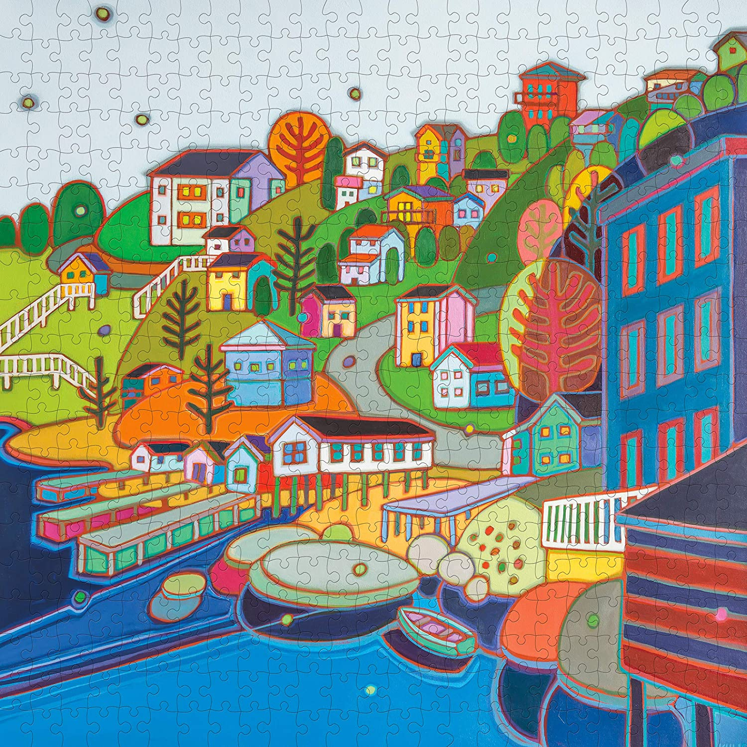 Jellybean Hill Travel Jigsaw Puzzle