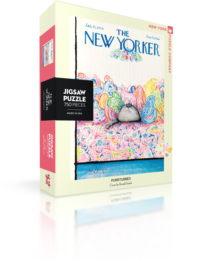 Purr Plexed The New Yorker Jigsaw Puzzle