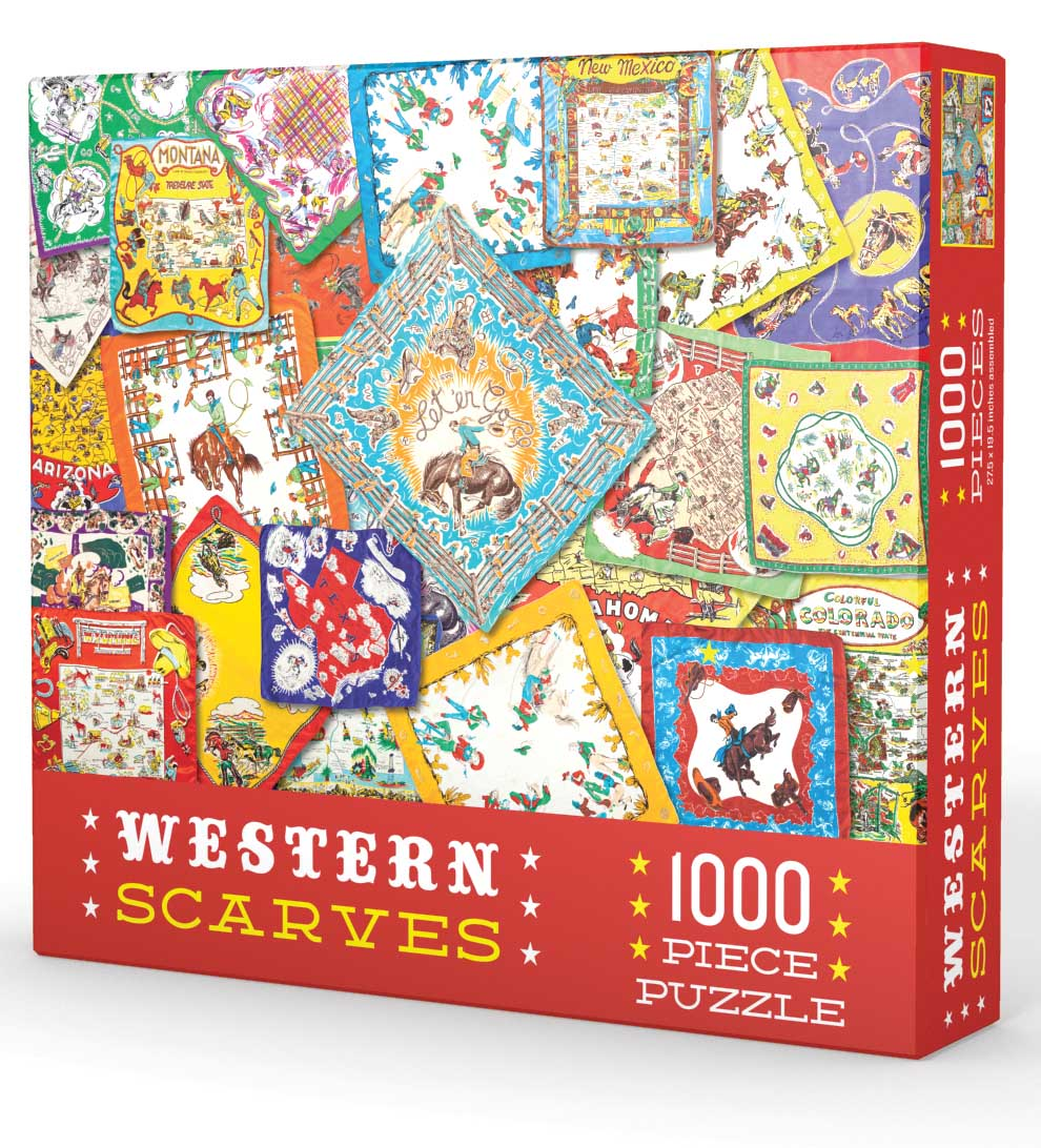 Western Scarves Everyday Objects Jigsaw Puzzle
