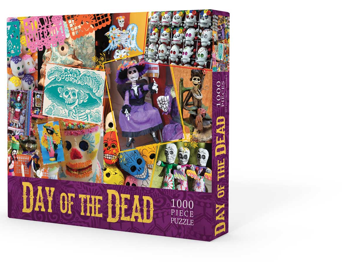 Day of the Dead Day of the Dead Jigsaw Puzzle