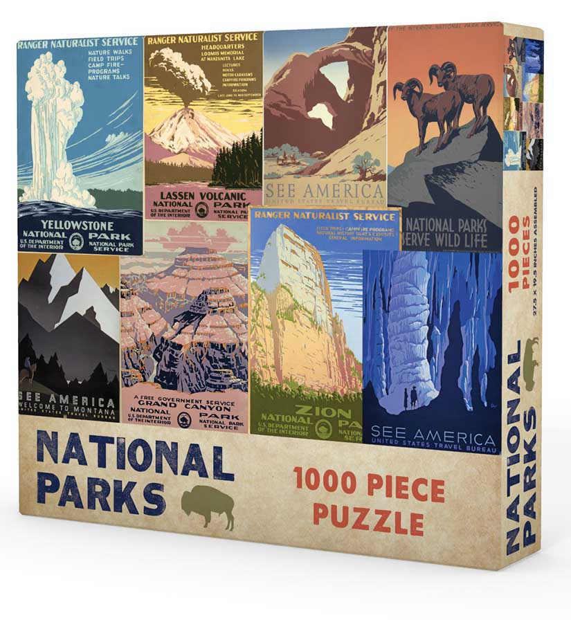 National Parks Travel Jigsaw Puzzle