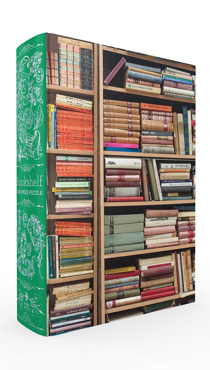 Bookshelf Book Box Puzzle Everyday Objects Jigsaw Puzzle