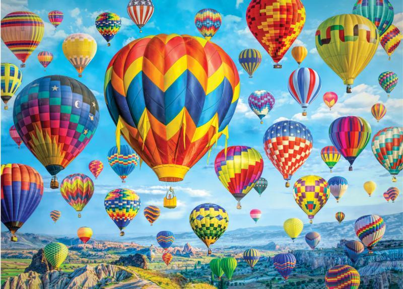 Balloons in Flight Balloons Jigsaw Puzzle