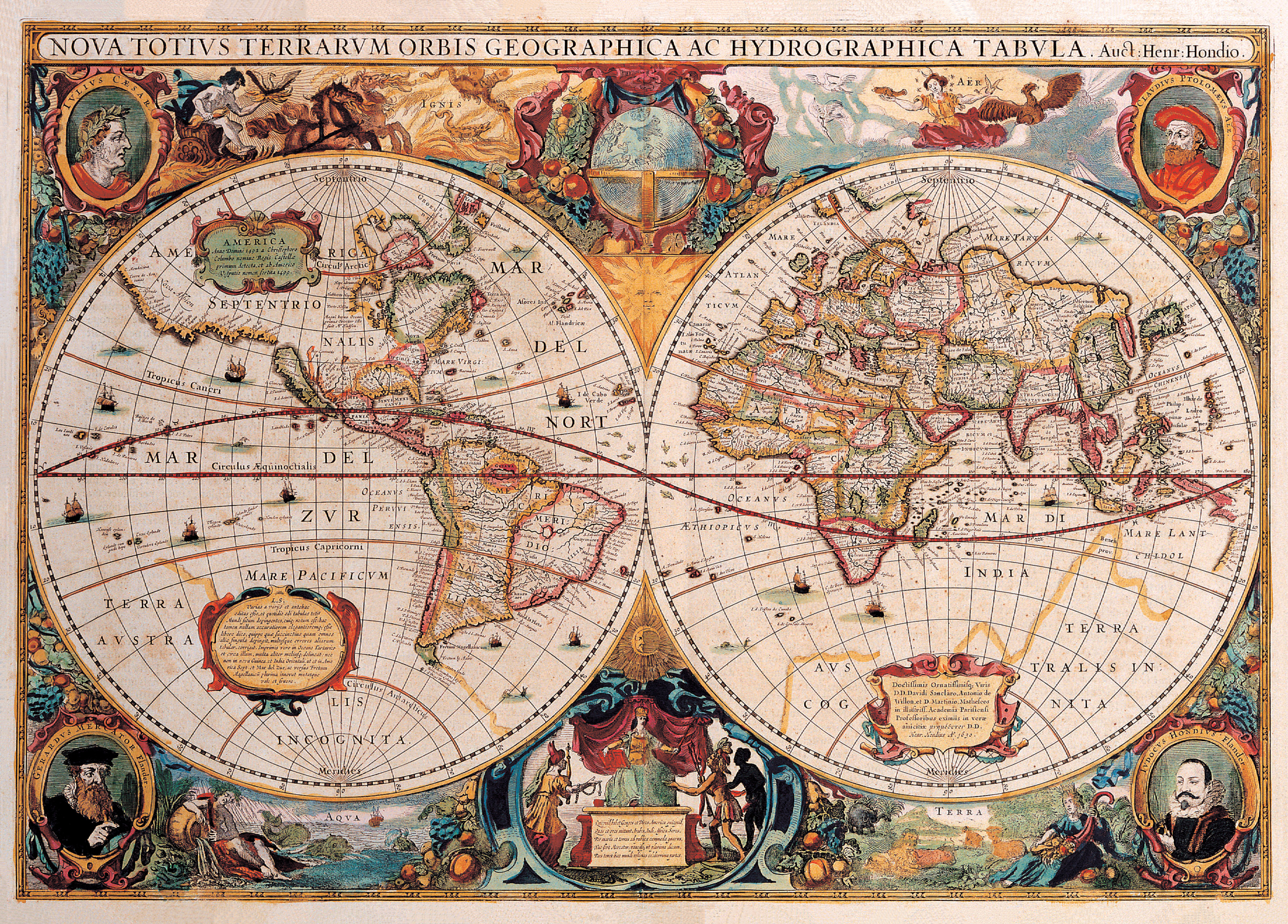 Old World Map Maps / Geography Jigsaw Puzzle