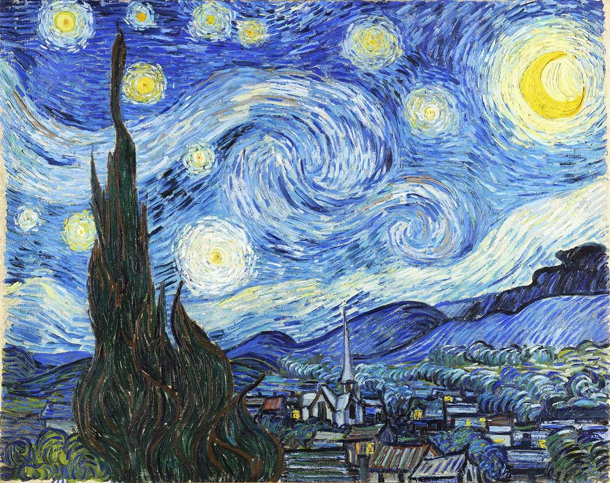 Starry Night Fine Art Jigsaw Puzzle