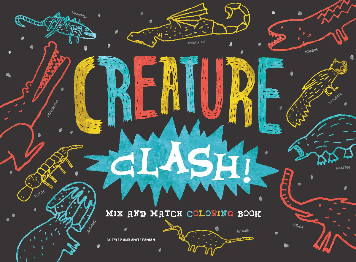 Creature Clash! Mix and Match Color Pi Day
