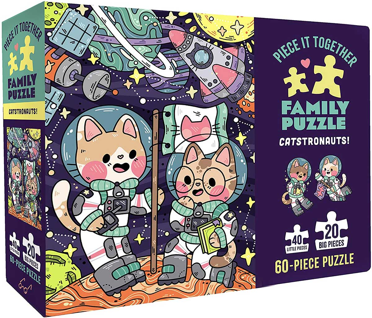 Catstronauts! Space Jigsaw Puzzle