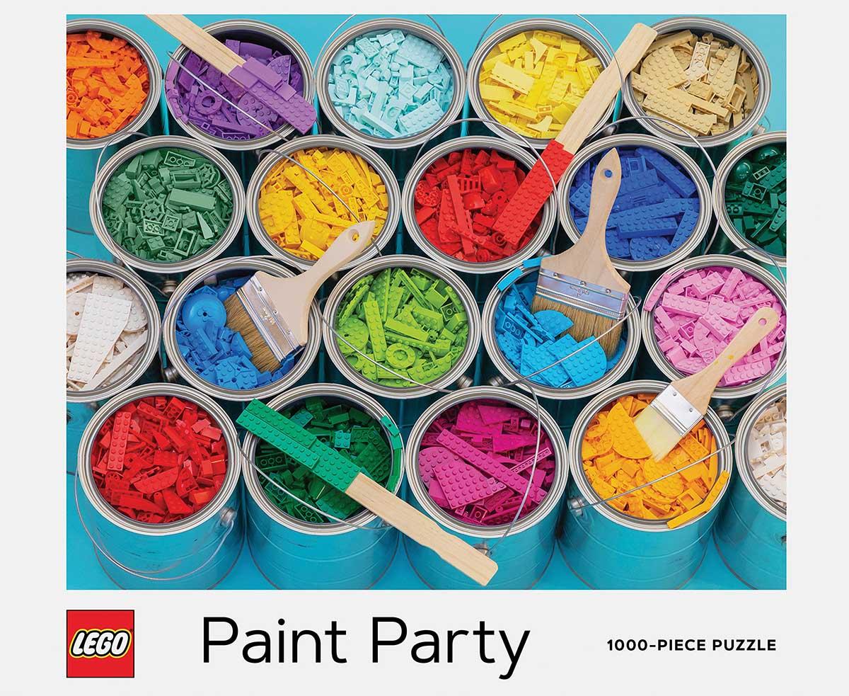 LEGO Paint Party Nostalgic / Retro Jigsaw Puzzle