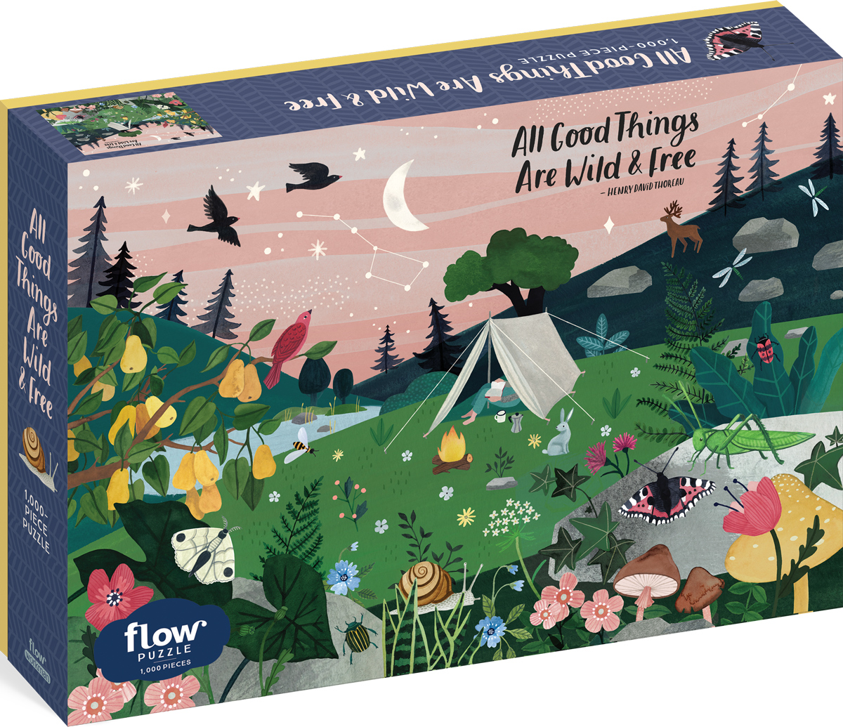 All Good Things Are Wild & Free Movies / Books / TV Jigsaw Puzzle