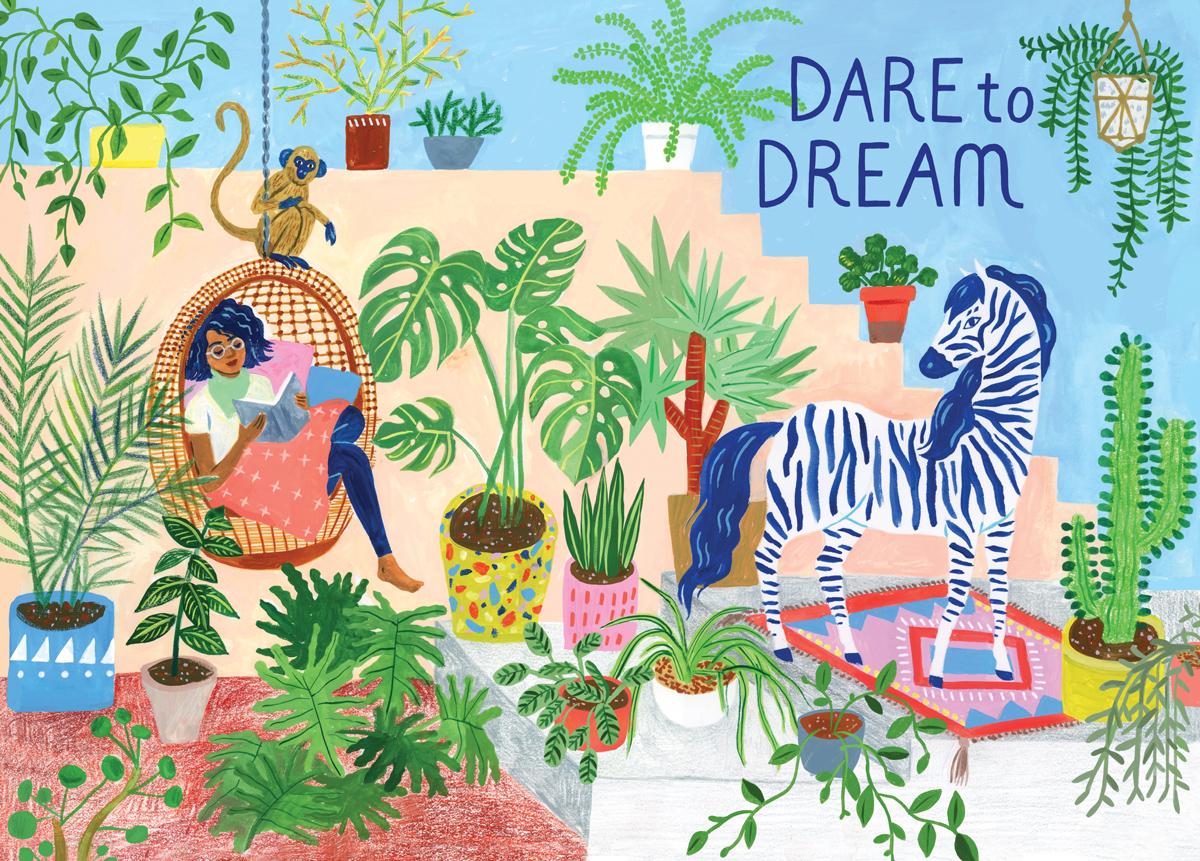 Dare to Dream Jigsaw Puzzle