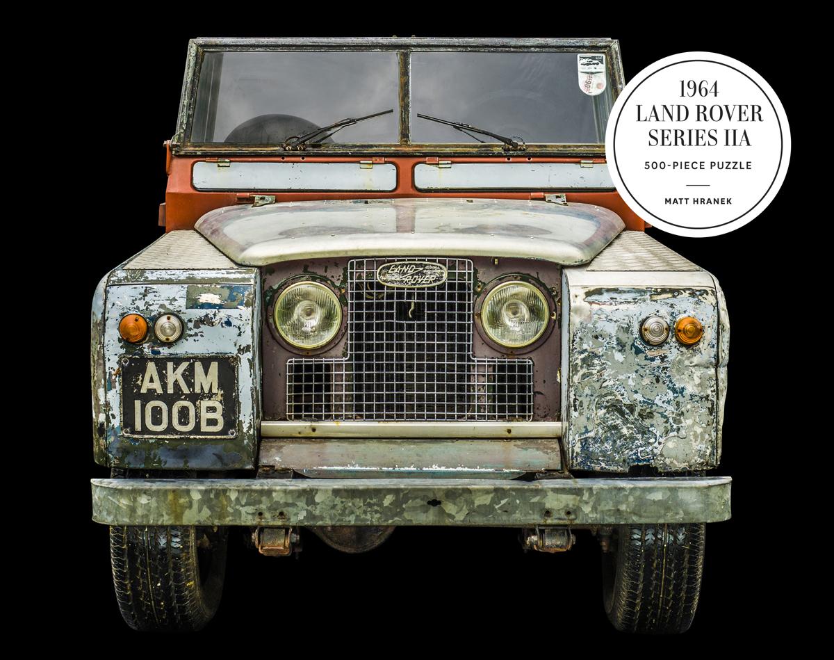 1964 Land Rover Series IIA Cars Jigsaw Puzzle