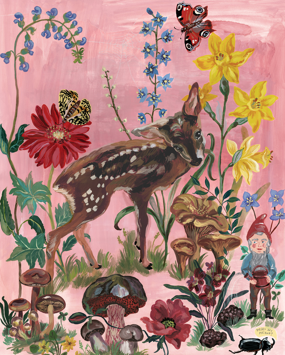 Bambi Animals Jigsaw Puzzle