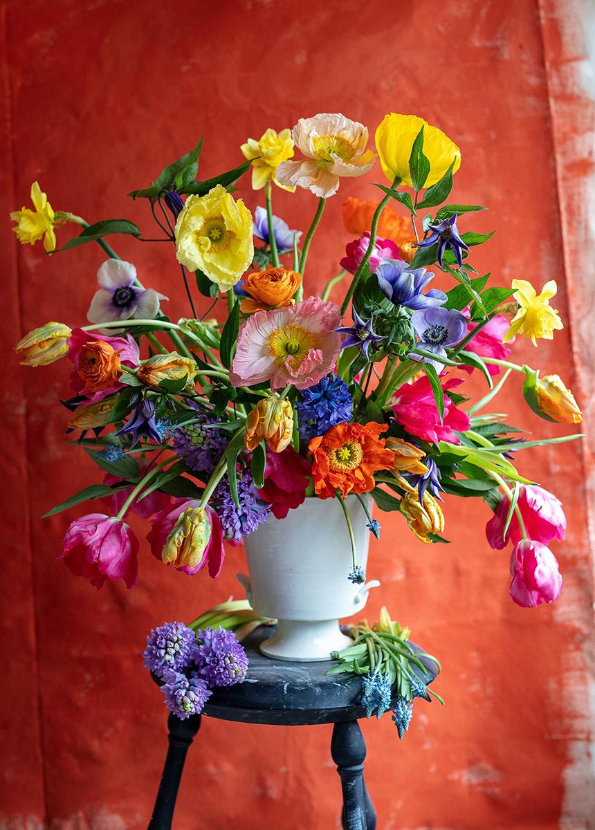 Garden Bounty Flowers Jigsaw Puzzle