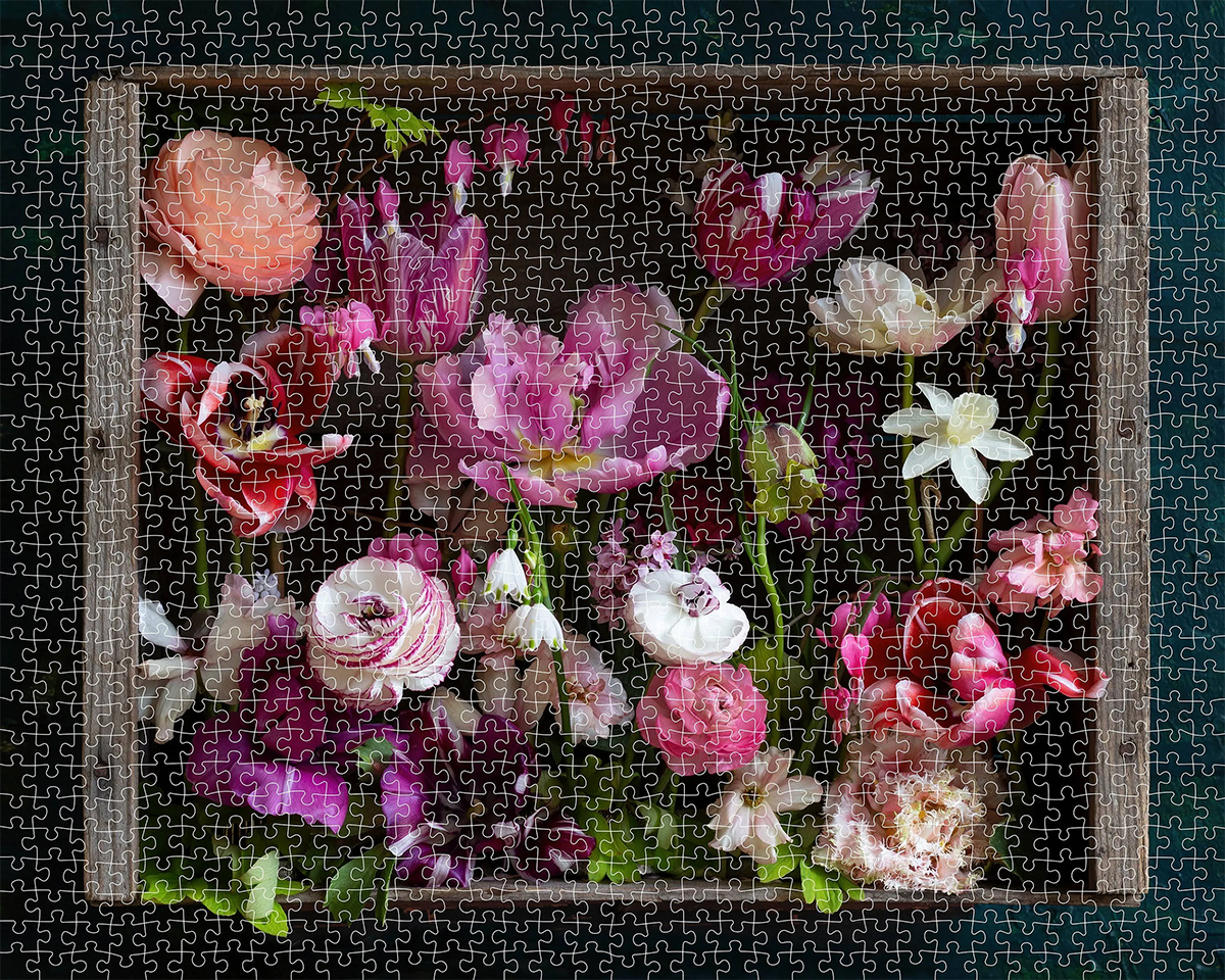 Cultivated - Scratch and Dent Flowers Jigsaw Puzzle