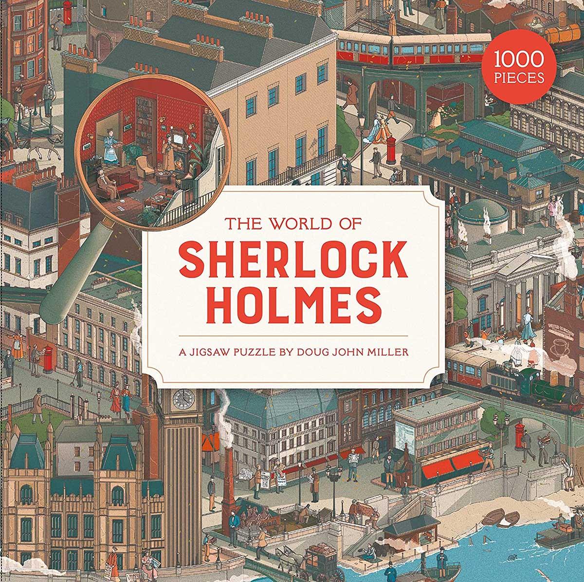 The World of Sherlock Holmes Movies / Books / TV Jigsaw Puzzle