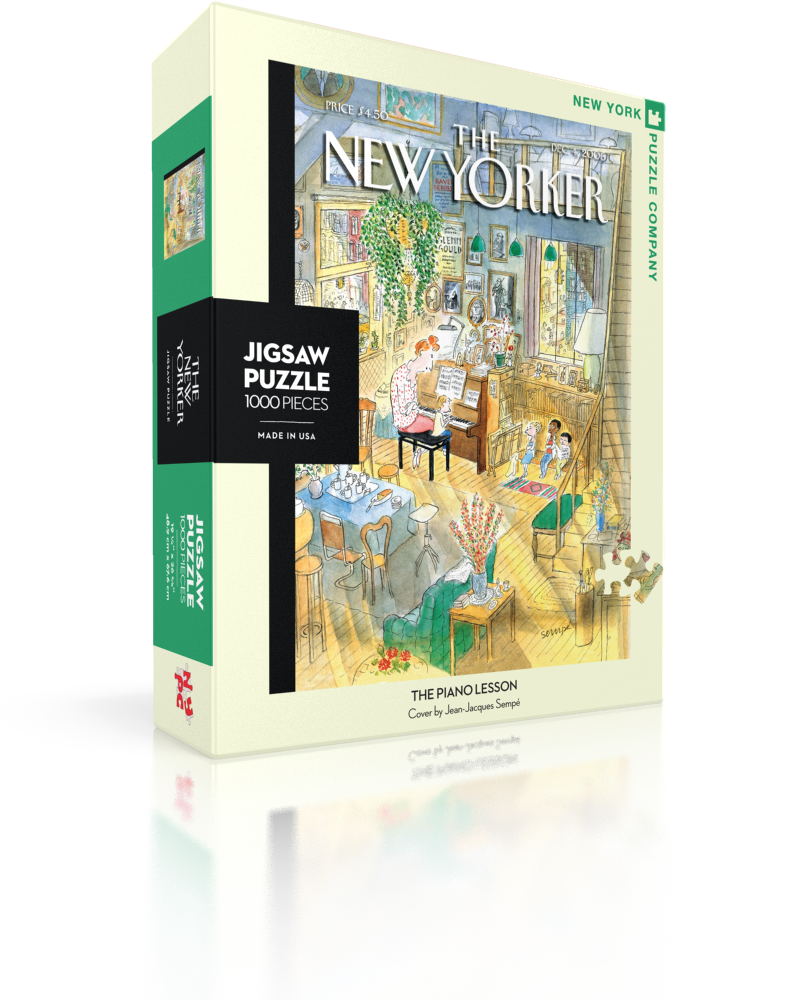 The Piano Lesson (The New Yorker) Magazines and Newspapers Jigsaw Puzzle