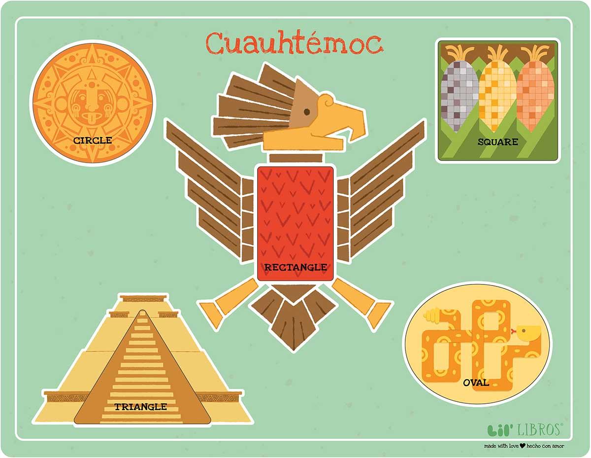 Cuauhtemoc Native American Children's Puzzles
