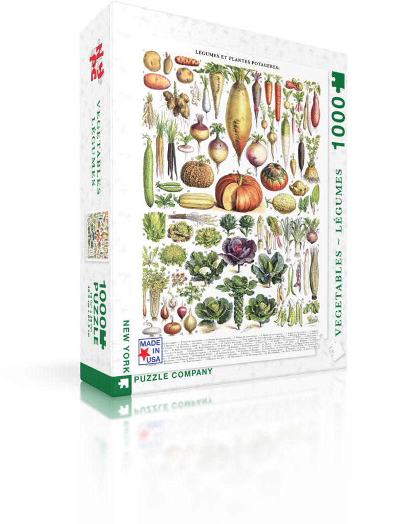 Vegetables Garden Jigsaw Puzzle