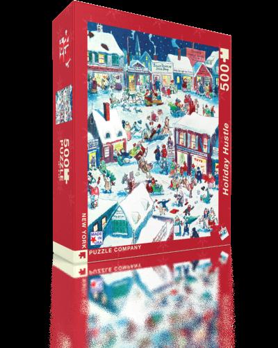 Holiday Hustle Santa Jigsaw Puzzle