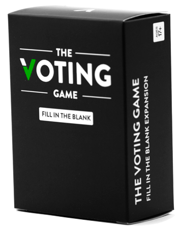 The Voting Game Fill in the Blank Expansion