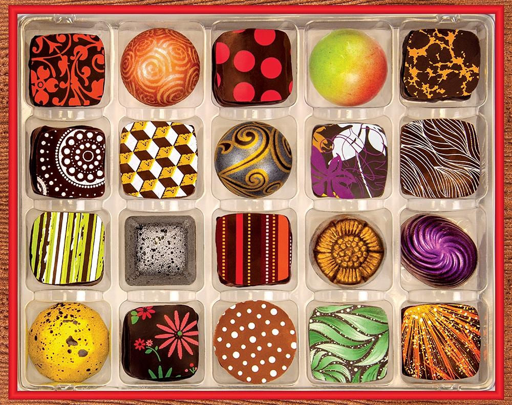 Chocolate Artistry Valentine's Day Jigsaw Puzzle