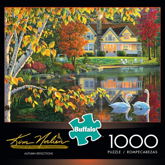 Autumn Reflections - Scratch and Dent Fall Jigsaw Puzzle