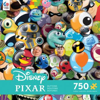 Pixar Buttons (Disney) Disney Jigsaw Puzzle